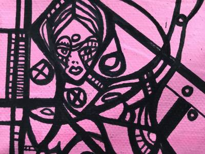 Pink Female Recto/verso