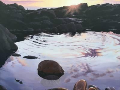 Tide Pool Ripples #2