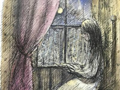 and as she read the night dieded
