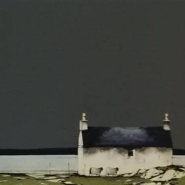 Ron  Lawson - Cottage at Bogach, Barra