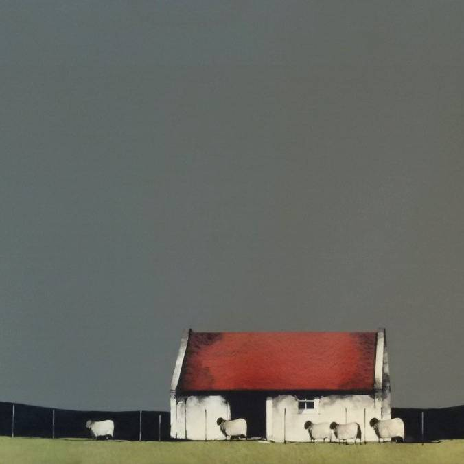 Ron  Lawson - Farm Building, Skye