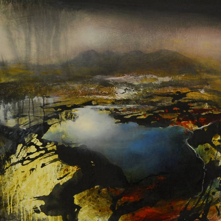 Beth Robertson Fiddes - An Teallach Through a Shower
