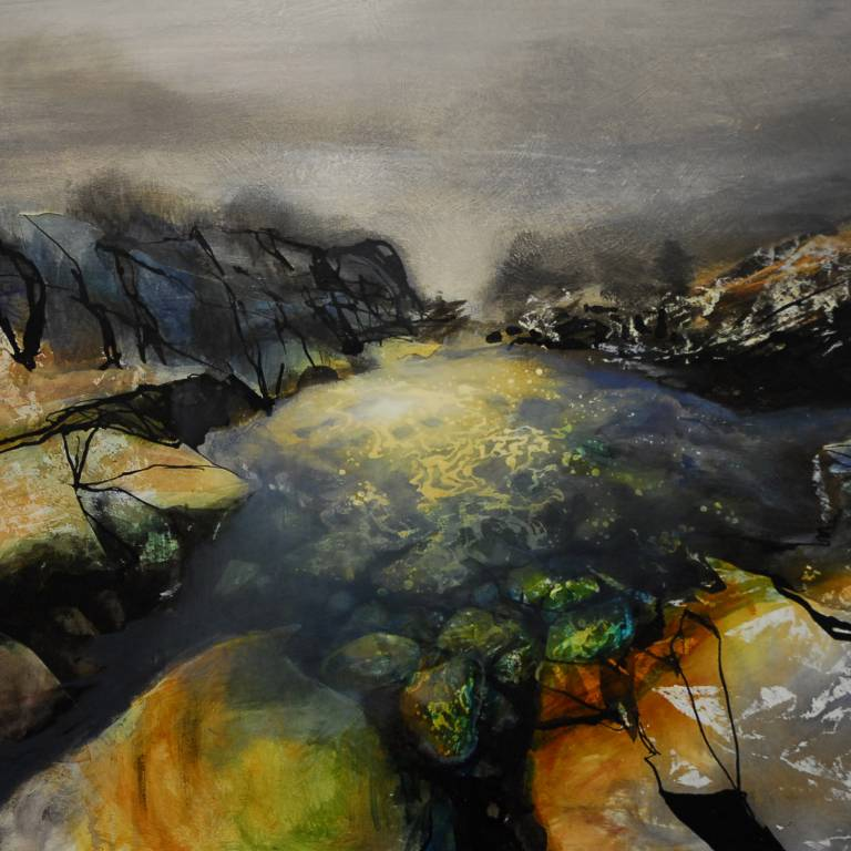 Beth Robertson Fiddes - Rock Pool at Altanabradhan