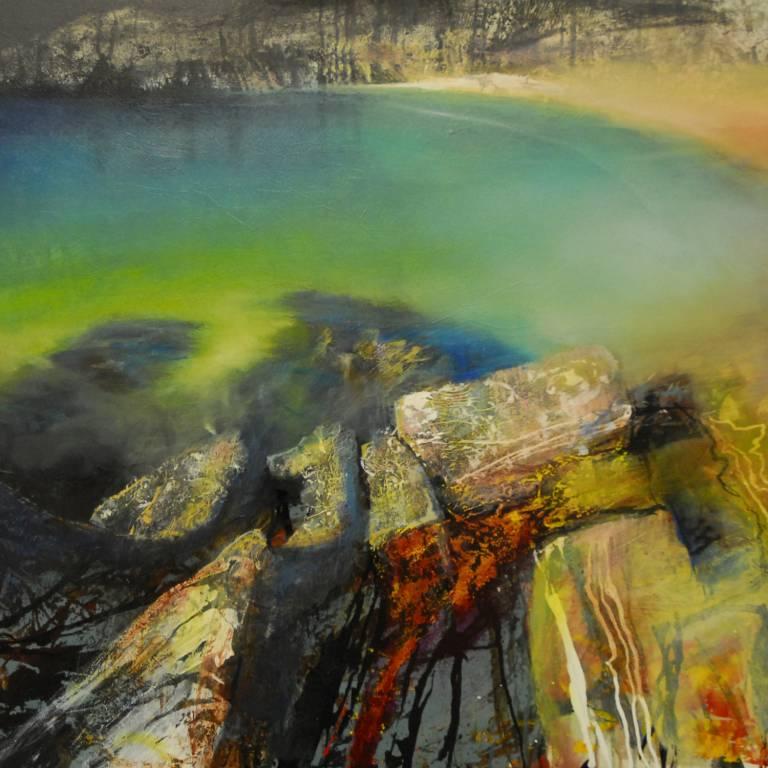 Beth Robertson Fiddes - Rock Shadows, Achmelvich