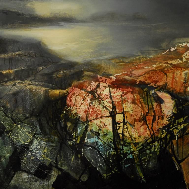 Beth Robertson Fiddes - Warm Rocks, Assynt