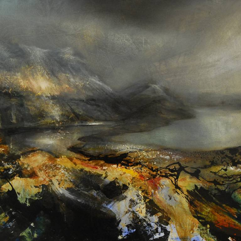 Beth Robertson Fiddes - Winter Light, Inverpolly