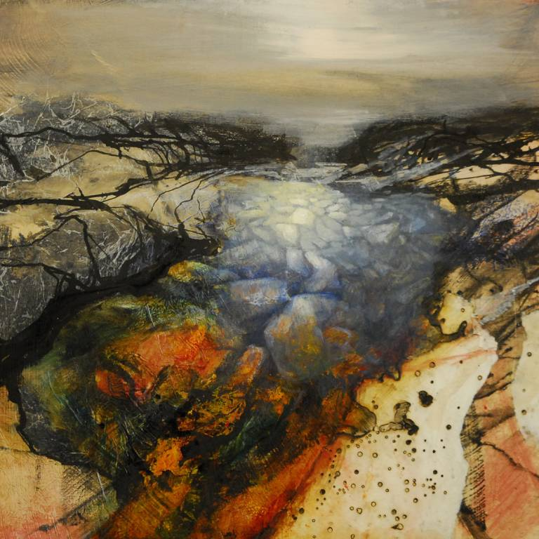 Beth Robertson Fiddes - Winter Rock Pool