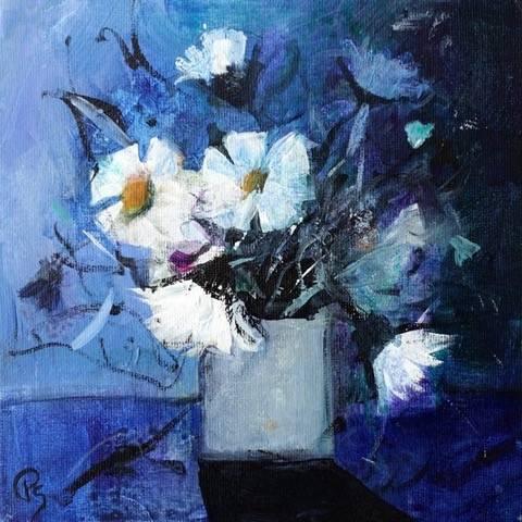 Patricia Sadler - Daisies in a Vase