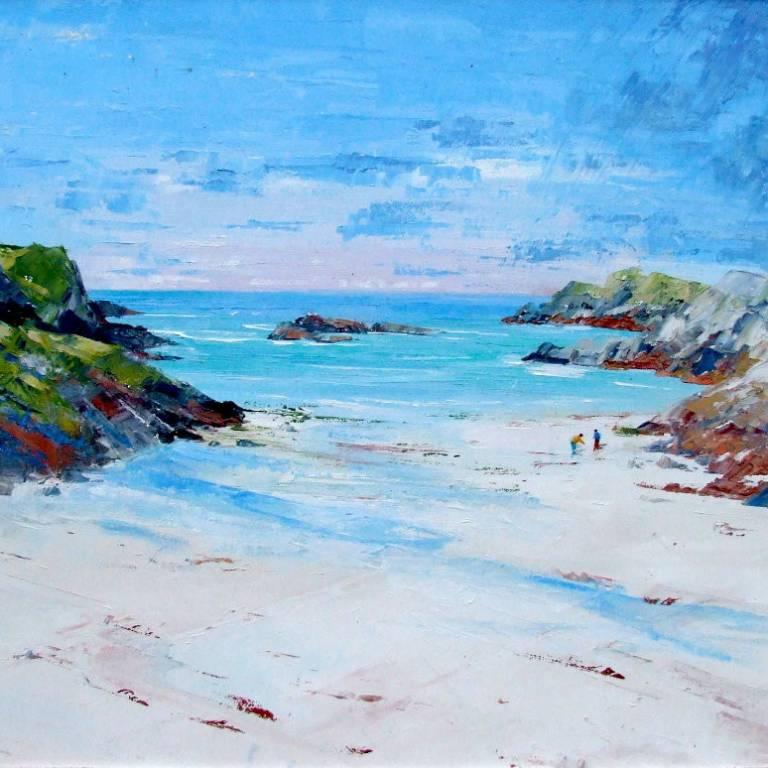Erni Upton - Beachcombers, Port Bhan, Iona