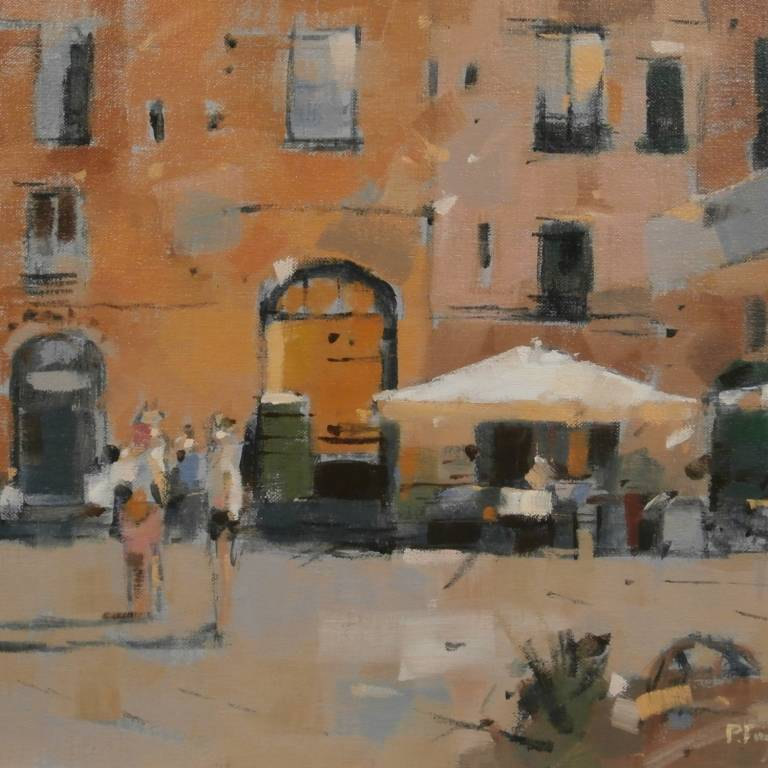 Peter Foyle - In the Piazza dell' Anfiteatro, Lucca