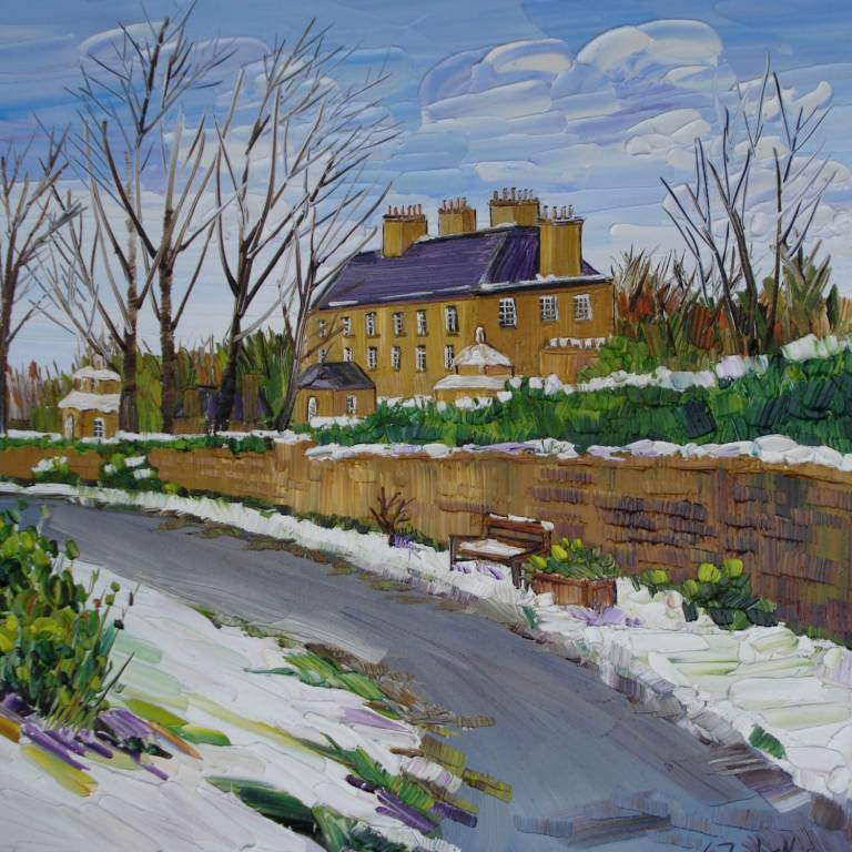 Sheila Fowler - Pollok House Winter