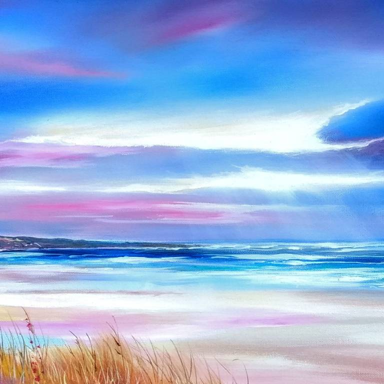 Douglas Roulston - St Cyrus's Sunset Storm