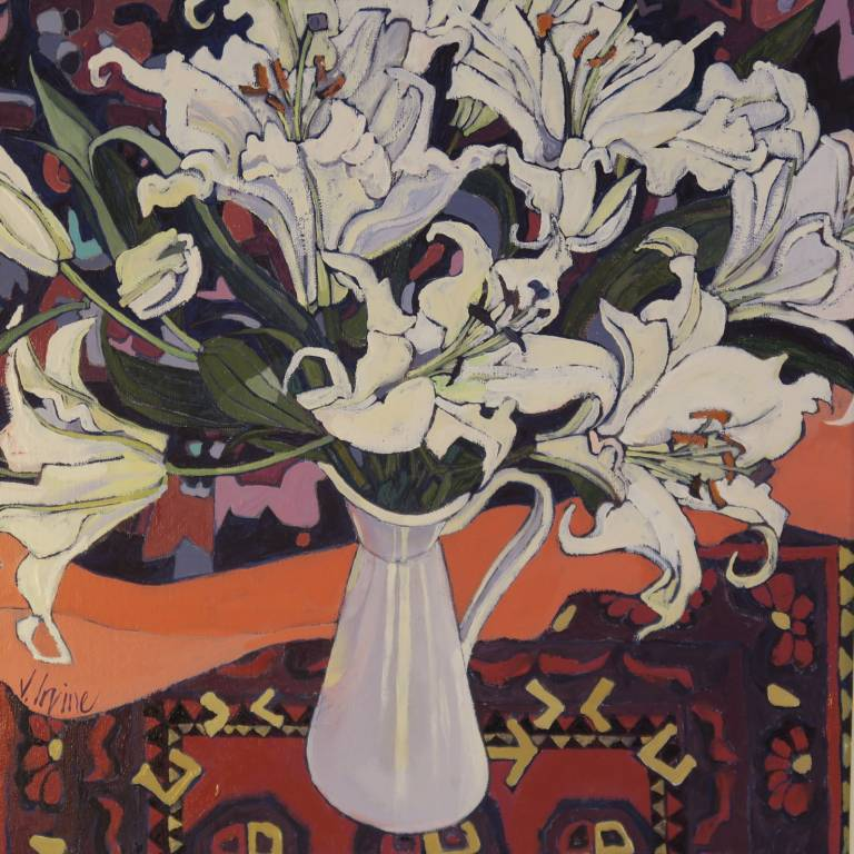 Jennifer Irvine - Still Life with White Lillies