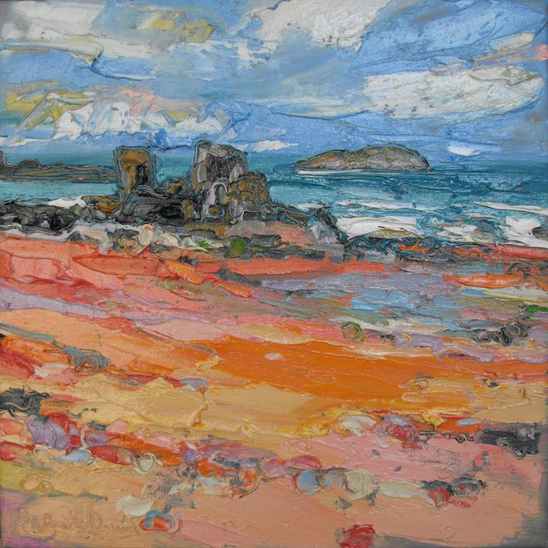 Judith Bridgland - Rocks and Wet Sand, North Berwick