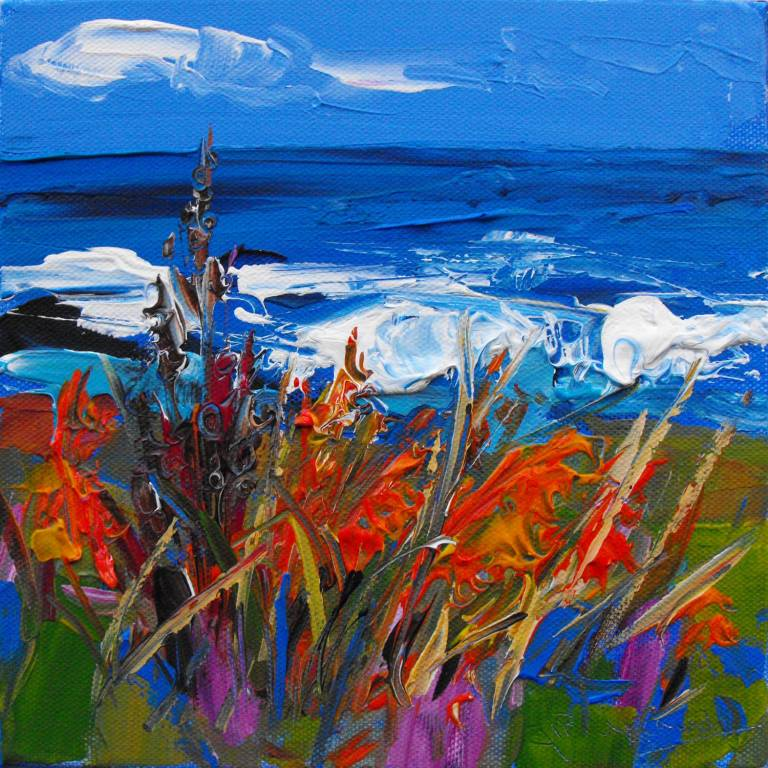 Judith Bridgland - Rough Sea, Causeway Coast Headland