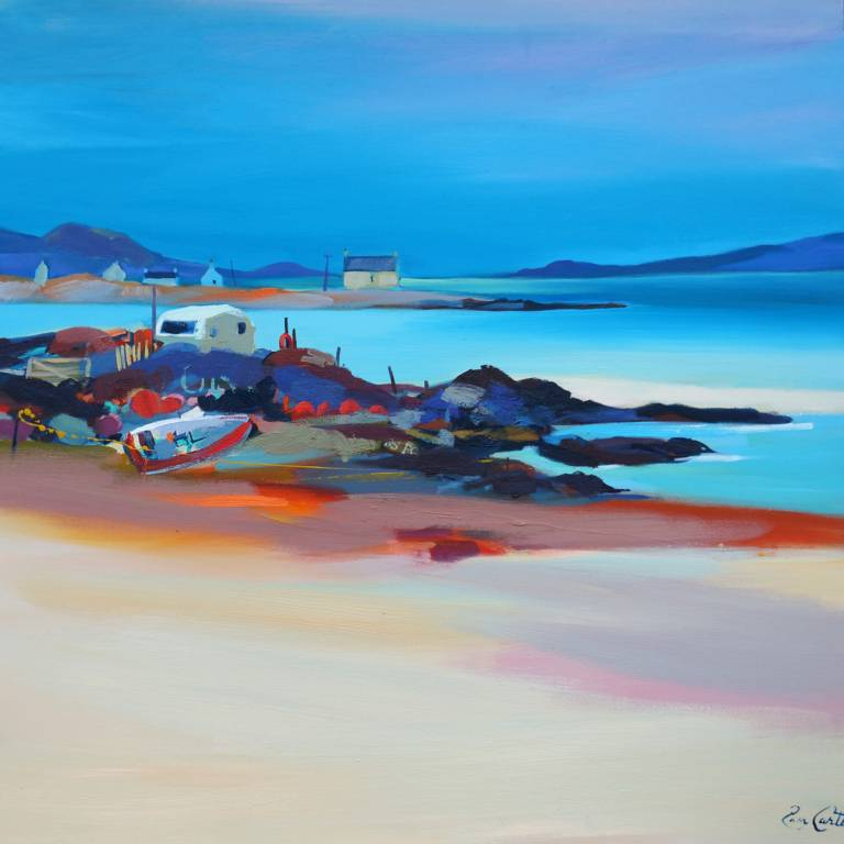 Pam Carter - On the Rocks, Uist