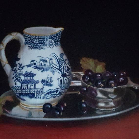 Hilary Gauci - Sparrowbeak Jug with Blackcurrants