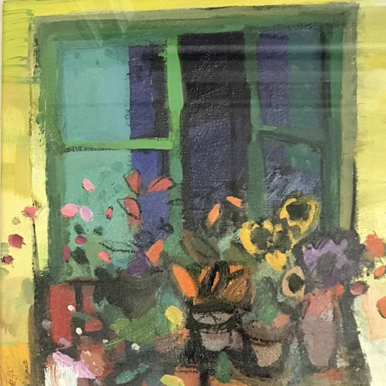 Jacqueline Orr - Window, Collioure