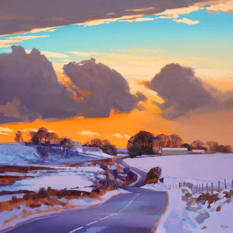 Jim Wylie - Glasgow Road Winter