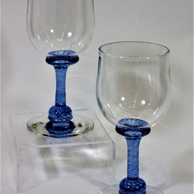 Andrew Sanders & David Wallace - Tall Angram Glass