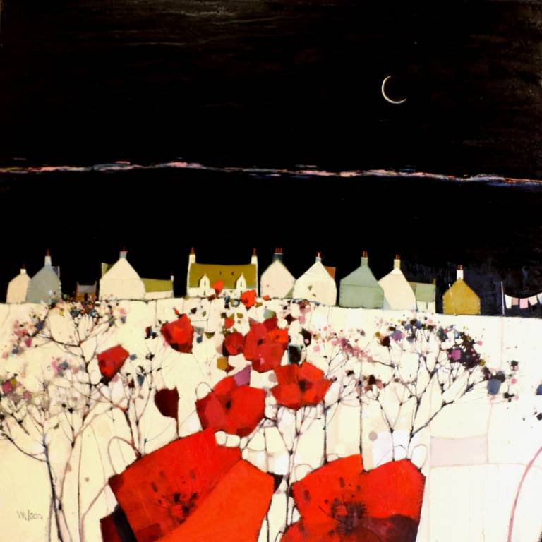 Gordon Wilson - Crescentic Moon, Skye Settlement