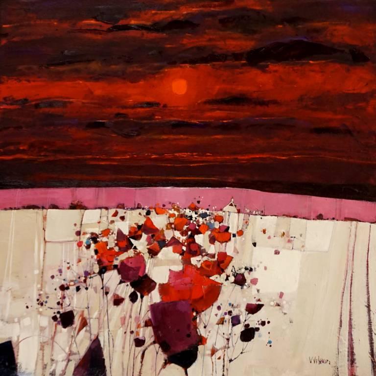 Gordon Wilson - Pink Hill, Gargunnock
