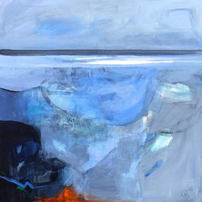 Patricia Sadler - A Blue Dawn Over the Sea