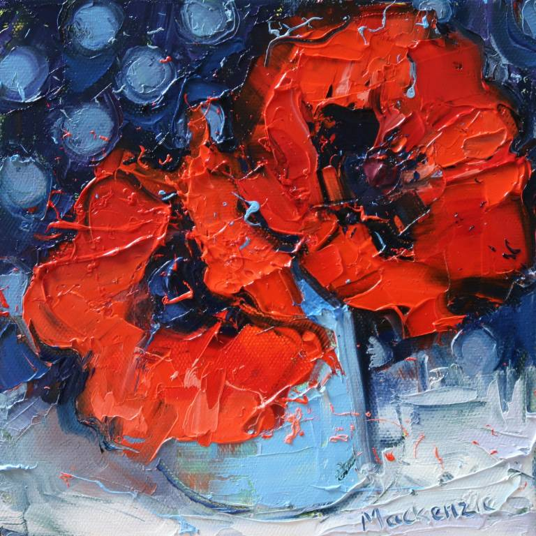 Jennifer Mackenzie - Wee Jug of Poppies