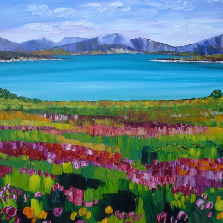 Sheila Fowler - Machair Grasses Harris