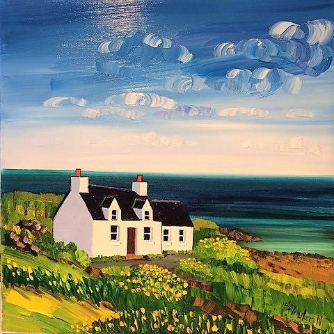 Sheila Fowler - Sea View Cottage, Luskentyre Harris