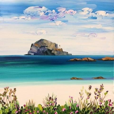 Sheila Fowler - The Bass Rock from North Berwick