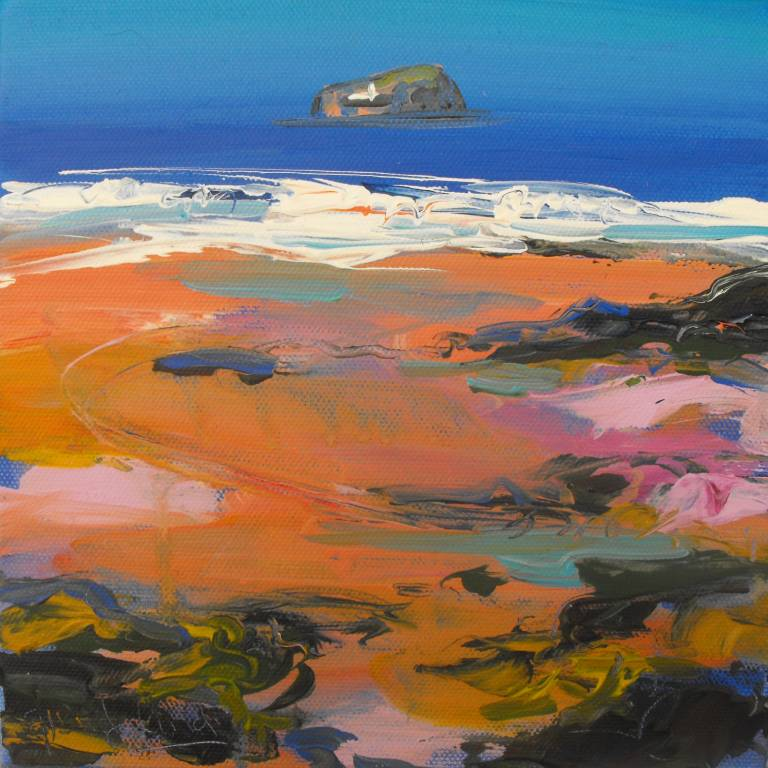 Judith Bridgland - Sand Patterns, Sea Cliff