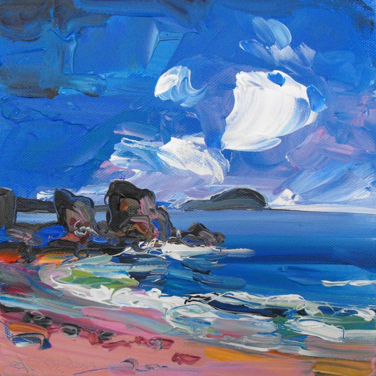Judith Bridgland - Big Clouds, North Berwick