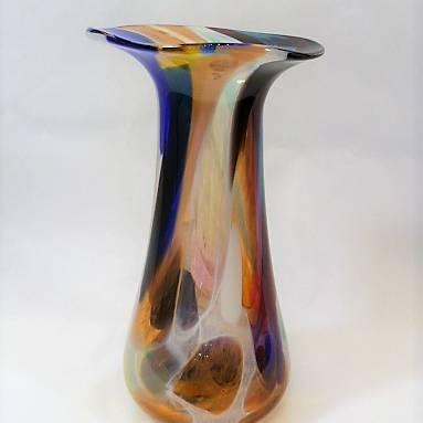 Shakspeare Glass - Nougat Vase Medium