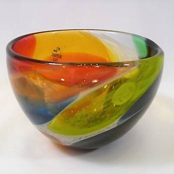 Shakspeare Glass - Nougat Bowl Small