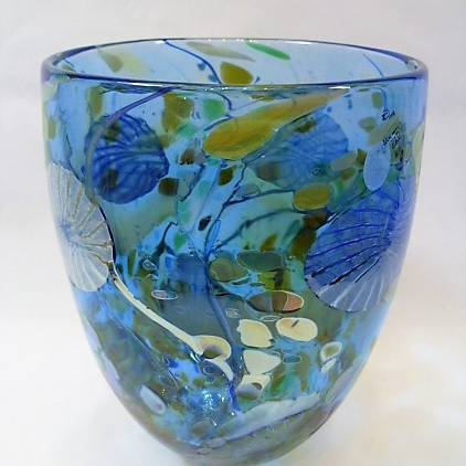 Shakspeare Glass - Flotsam Bowl Tall Medium