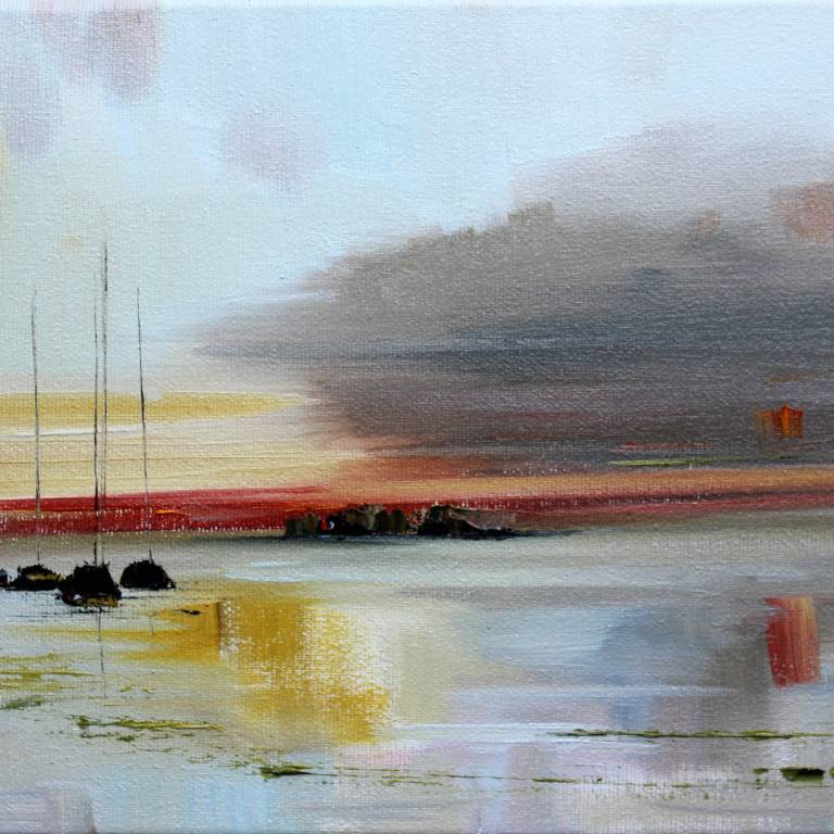 Rosanne Barr - Clouds at Sunset