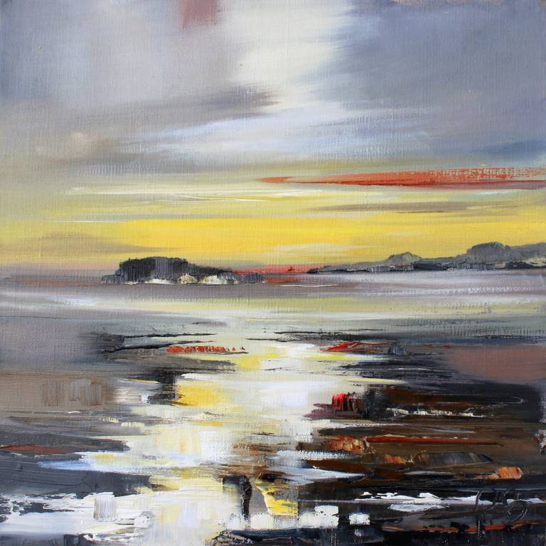 Rosanne Barr - Golden Reflections on a Tidal River