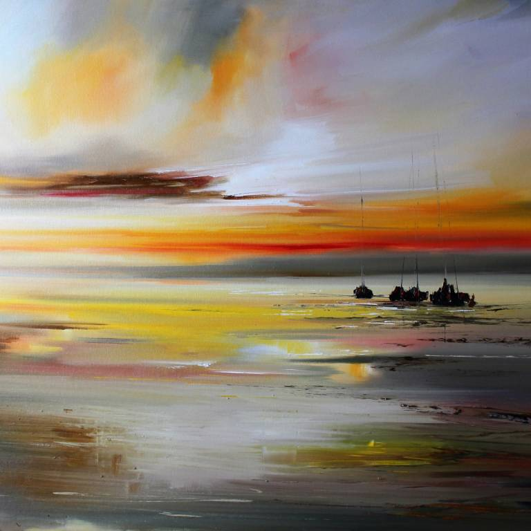 Rosanne Barr - Yachts at Dusk