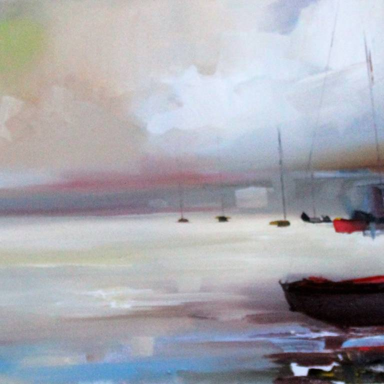 Rosanne Barr - Boat Shed and Boats