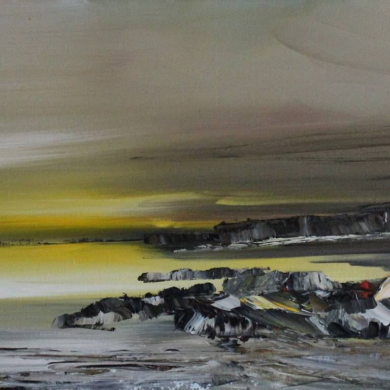 Rosanne Barr - Rocky Shoreline at Daybreak
