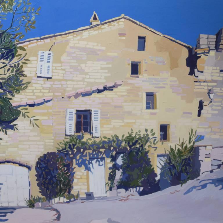 Jennifer Irvine - Seguret Village, Provence