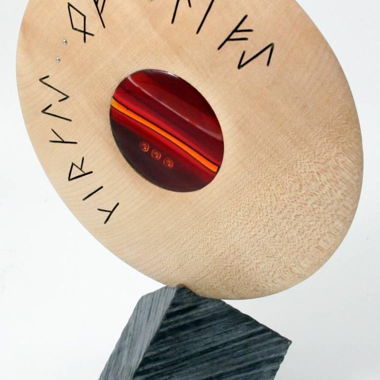 Scott Irvine - Lunar Sculpture (Sycamore)