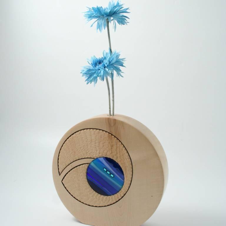 Scott Irvine - Mini Porthole Vase (Sycamore)