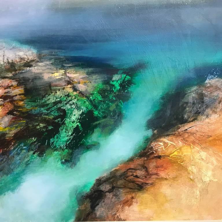 Beth Robertson Fiddes - Hidden Blue