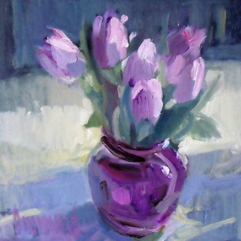 Marion Drummond PAI - LIlac Tulips