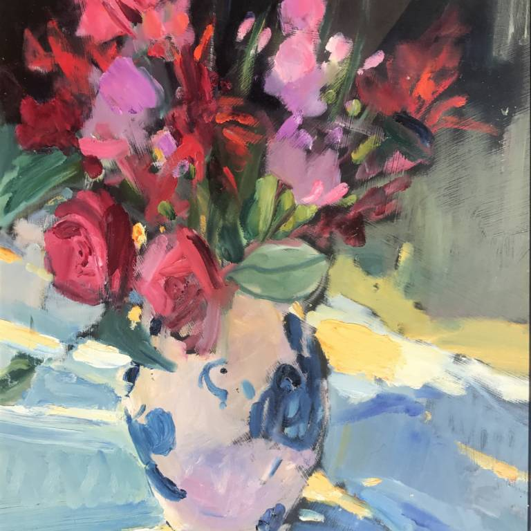 Marion Drummond PAI - Flowers from the Garden