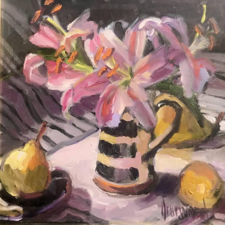 Marion Drummond PAI - Little Striped Jug
