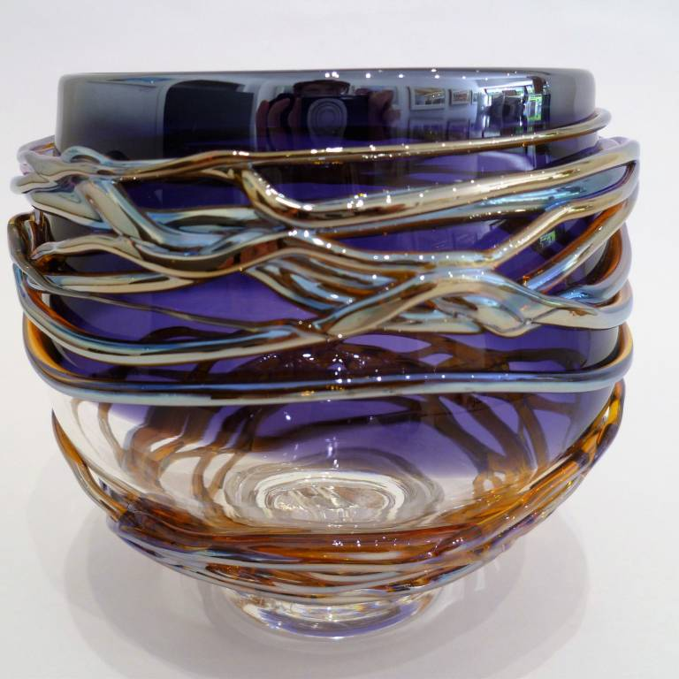 Allister  Malcolm - Golden Trailing Bowl Small (copy)