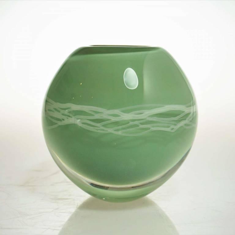 Elin Isaksson - Ripple Vase Green